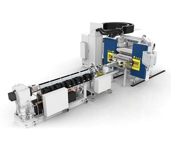 Reifenhauser in-line thermoforming