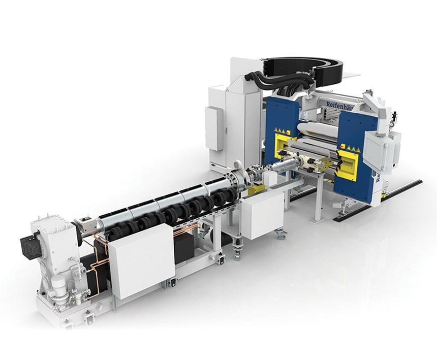 Reifenhauser in-line thermoforming