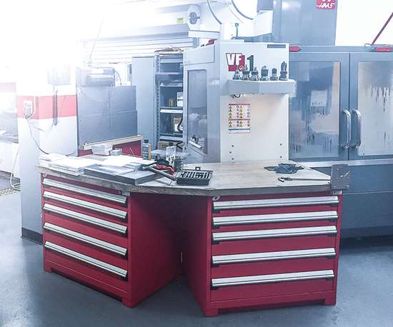 Haas VF1 CNC machine