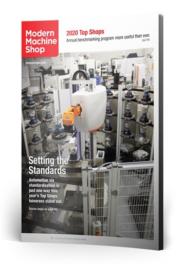 Setting the Standards: Automation via standardization is just one way this year's Top Shops honorees stand out.