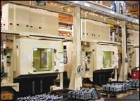 Engine machining line