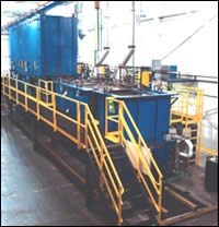 Recover process line