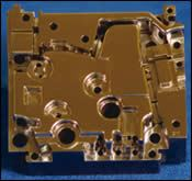 Chrome-plated core insert