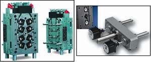 Electric-drive valve-gate