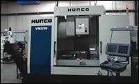 Hurco's CNC machining center
