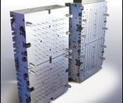 128-cavity valve gate mold
