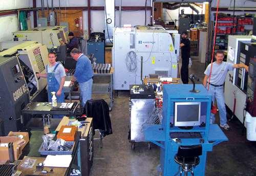 Aero Precision shop floor