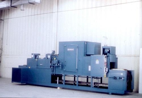 gas-heated belt conveyor oven