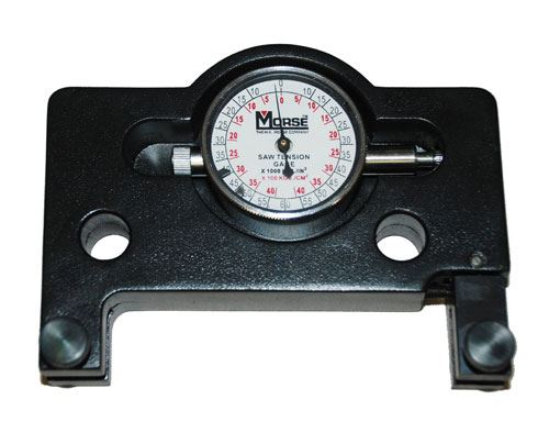 band saw tension gage