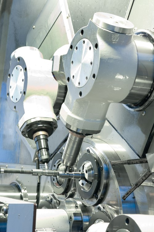Multi-spindle cutting