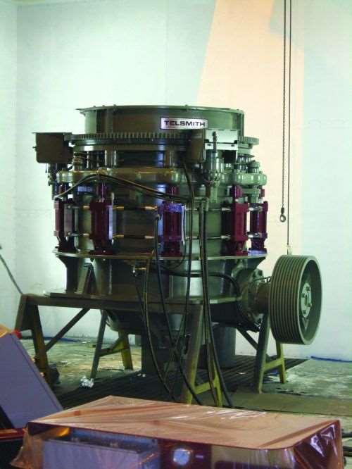Rock-crushing Machine