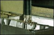 Free cutting Ingersoll Power-Feed+ mill