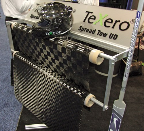 TeXero unidrectional tapes and Textreme tape-woven spread-tow fabrics