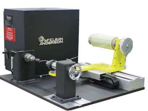 McClean Anderson's Tabletop Filament Winding Machine