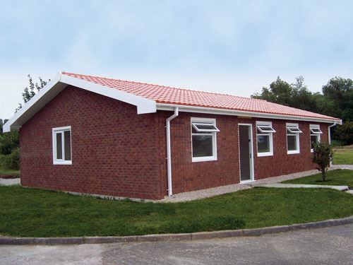 An All-Composite House