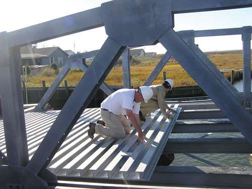 ZellComp Inc.'s first bridge-deck installation