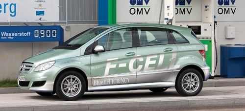 Mercedes-Benz F-Cell car