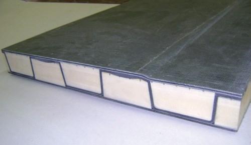 Deck panel cross section