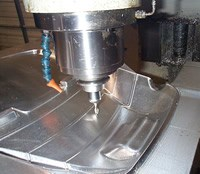 Luge mold machining