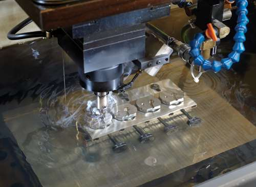 EDM mold cavity fabrication