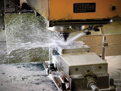 CNC machining mold base fabrication
