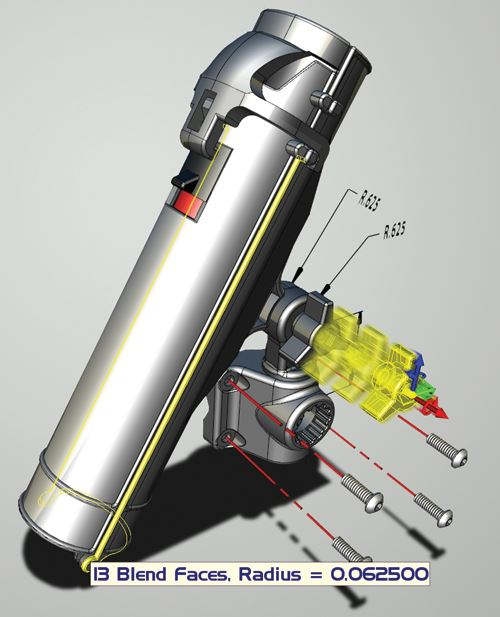 KeyCreator 3D direct modeling