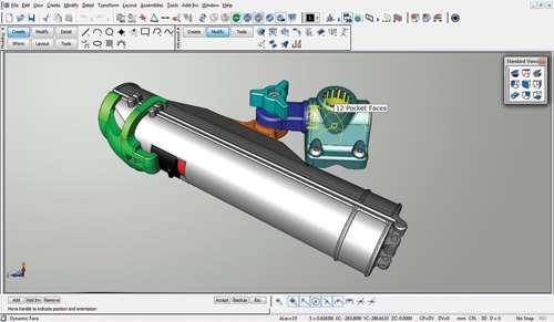 KeyCreator Direct CAD software