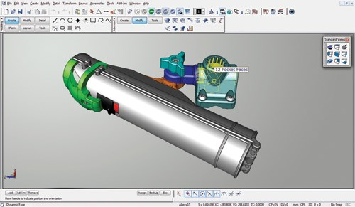 Design Modeling Package Integrates Tools to Organize Projects ... on vectorworks cad, solidworks cad, nx cad,