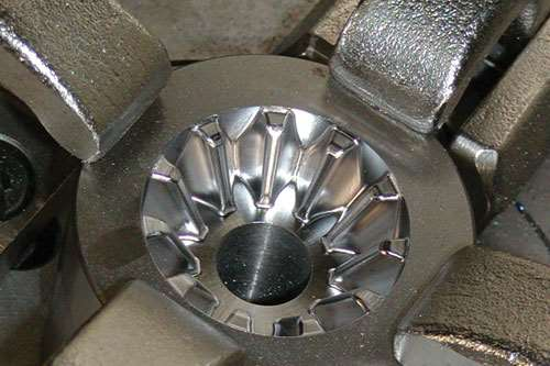 bevel gear forging die