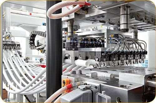 Arburg injection molding press overmolding TPE