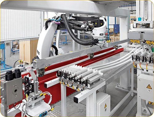 Four-axis Kuka robot