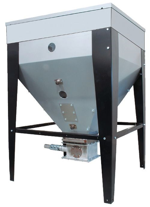 Novatec expandable surge bins for central conveying
