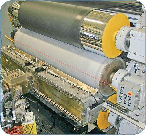 EDI sheet extrusion die at Rowmark