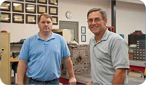 Toolroom at Automation Plastics with ToolingDocs mold maintenance training certificates