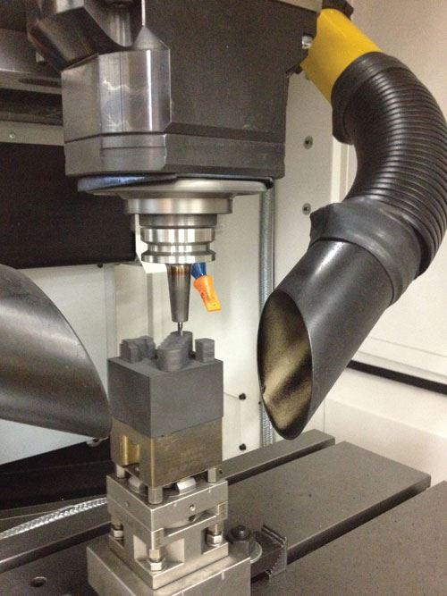 electrode milling