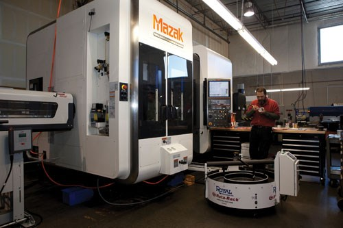 Five-axis Integrex i-200S from Mazak Corp.