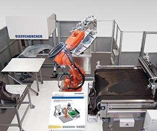 automated preform center