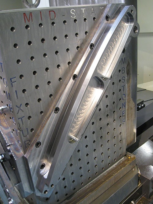 machined slot