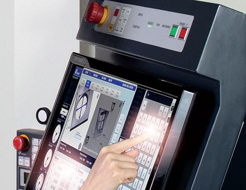 EDM touchscreen