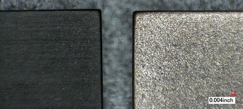 graphite vs copper electrode