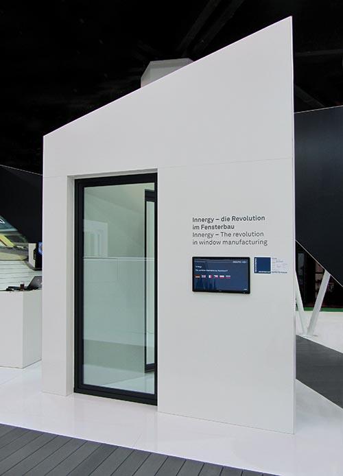 Inouticu0027s (Bogen, Germany) Composite Window Frame Design Acumen Was In  Evidence When This Large, Prototype Window, Designed To Open Like A Door,  ...