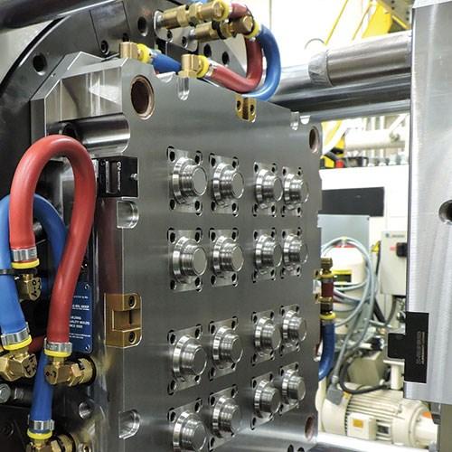 mold alignment locks