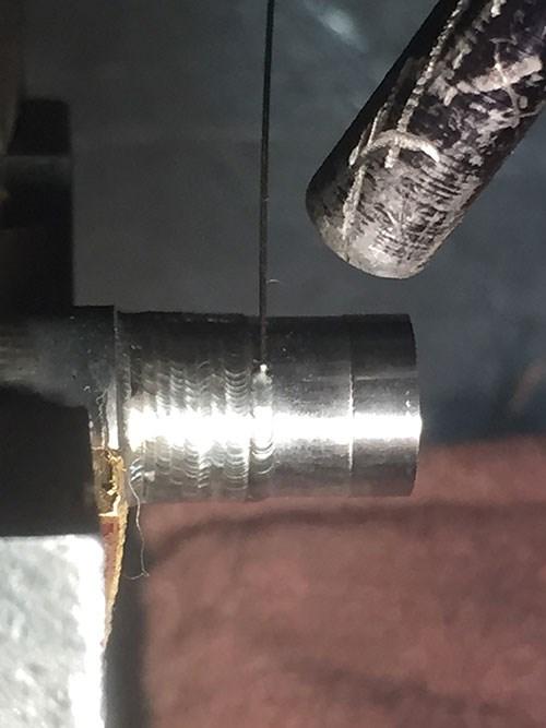 core pin welder
