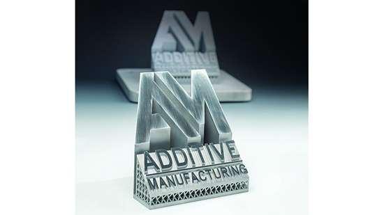 aluminum logo part