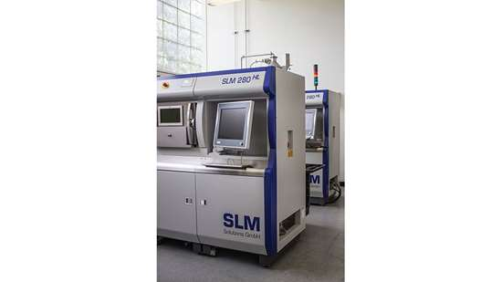 SLM machines