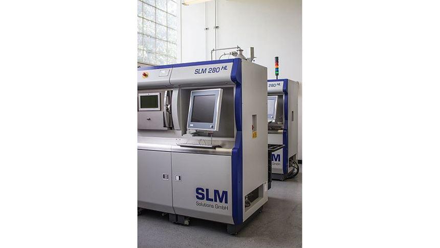 SLM machines