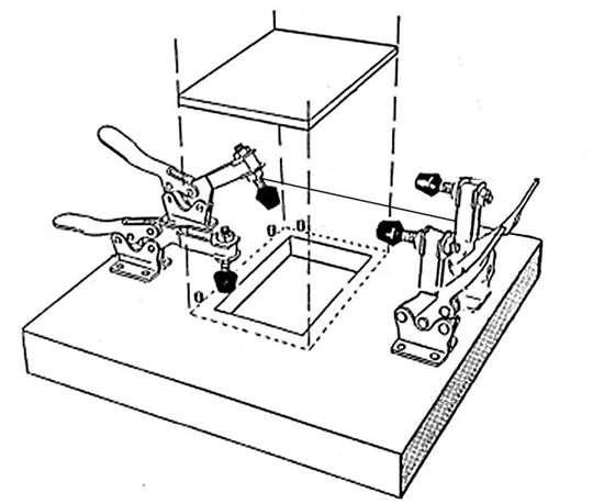 Fig. 1: Specimen support plate