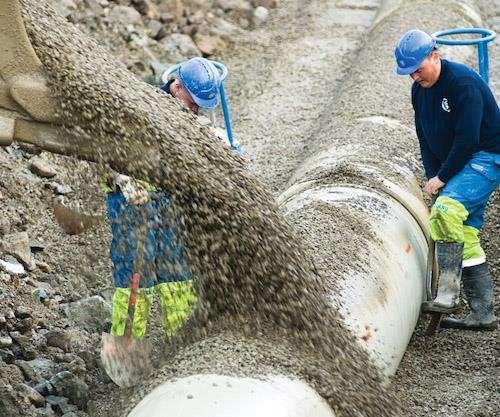 large-diameter Flowtite pipe