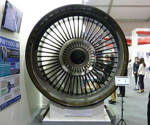 geared TurboFan for the Airbus 320neo