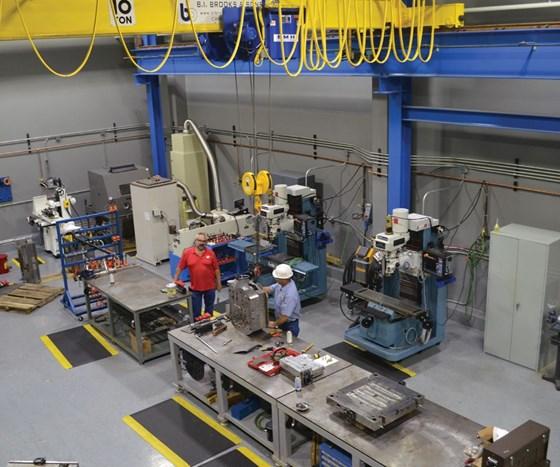 Henkel Richmond's toolroom